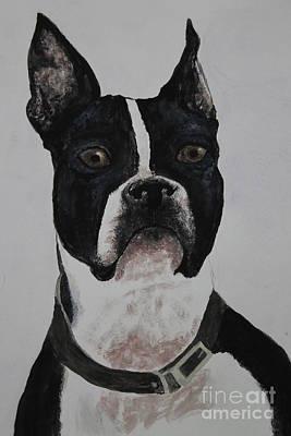 Watercolor My Loyal Boston Art Print by Ralph Hecht