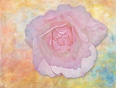 Photograph - Watercolor Rose by Susan Candelario