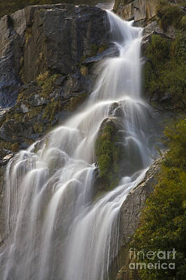 Photograph - Waterfall - Around Annapurna Trek by Craig Lovell