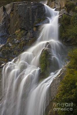 Photograph - Waterfall - Around Annapurna Trek by Craig Lovell