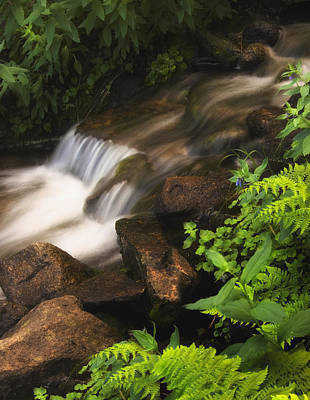 Photograph - Waterfall And Rocks by Douglas Pulsipher