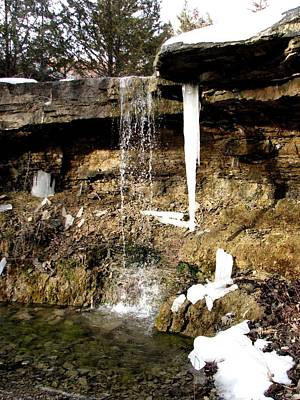 Photograph - Waterfall At Alcove Spring by Keith Stokes