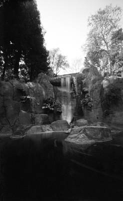 Photograph - Waterfall At Stow Lake by Luis Esteves