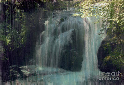 Photograph - Waterfall by Bob Senesac
