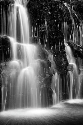 Photograph - Waterfall Cascade by John Stephens