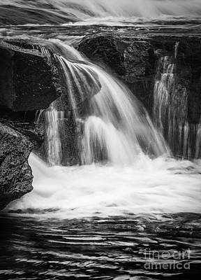 Photograph - Waterfall Detail Reedy River by David Waldrop