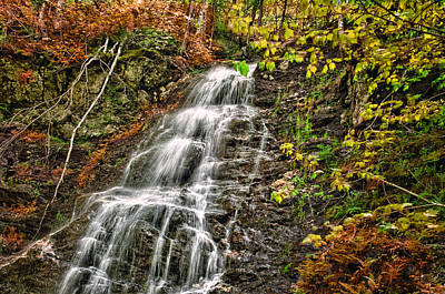 Photograph - Waterfall Fall by Fred LeBlanc