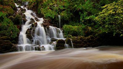 Photograph - Waterfall by Gavin Macrae