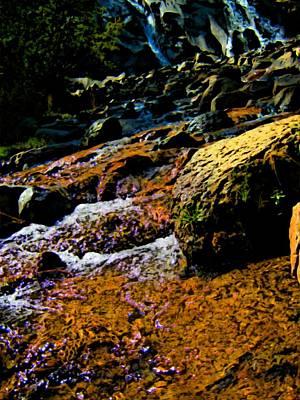 Waterfall  Print by Howard Perry