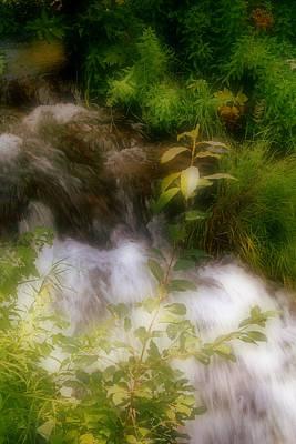 Photograph - Waterfall II by Ellen Heaverlo