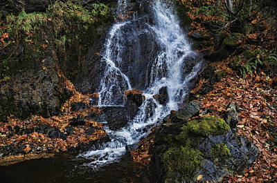 Harrison Hot Springs Wall Art - Photograph - Waterfall by Lawrence Christopher