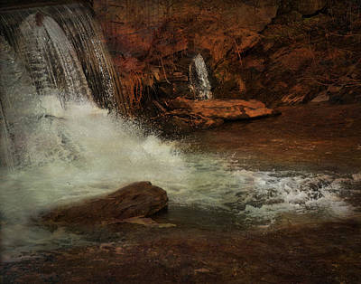 Photograph - Waterfall by Mario Celzner