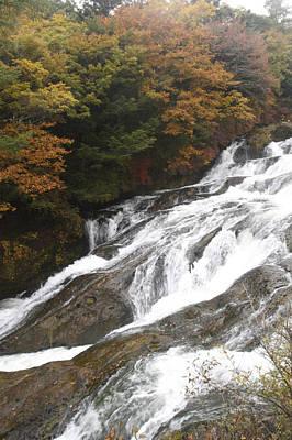Photograph - Waterfall by Masami Iida