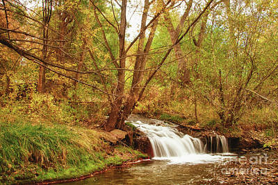 Creeks Photograph - Waterfall Merge  by James BO  Insogna