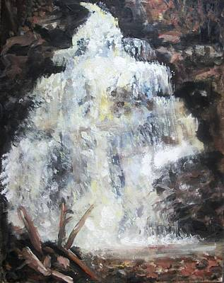 Painting - Waterfall by Sarah Farren