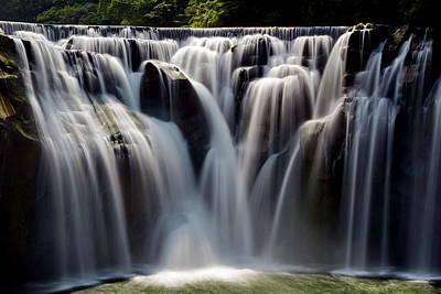 Y120817 Photograph - Waterfalls by Hank Sun (HankSun88)