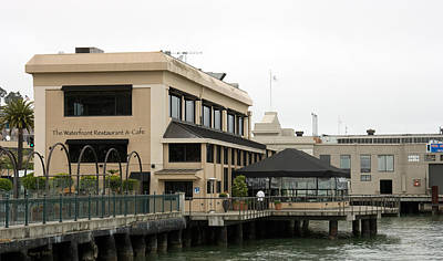 Photograph - Waterfront Restaurant by Gary Rose