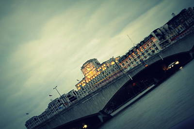 Photograph - Waterloo Bridge by Jacqui Collett