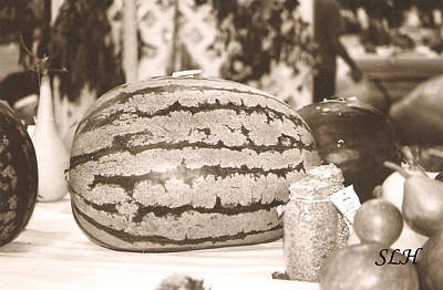 Photograph - Watermelon by Lee Hartsell