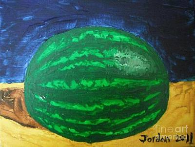 Watermelon Still Life Original by Jeannie Atwater Jordan Allen