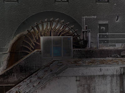 Alienation Digital Art - watermill in Krumbach I by Nafets Nuarb