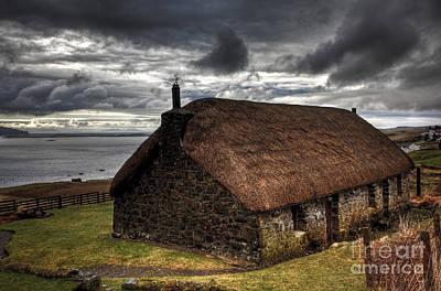 Photograph - Waternish Croft by Roddy Atkinson
