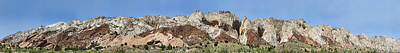 Canyon Photograph - Waterpocket Fold At Capitol Reef by Gregory Scott