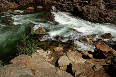 Sierra Photograph - Waters Edge Glen Alpine Creek by LeeAnn McLaneGoetz McLaneGoetzStudioLLCcom