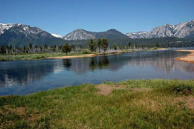 Happy Photograph - Waters Lead To Lake Tahoe by LeeAnn McLaneGoetz McLaneGoetzStudioLLCcom