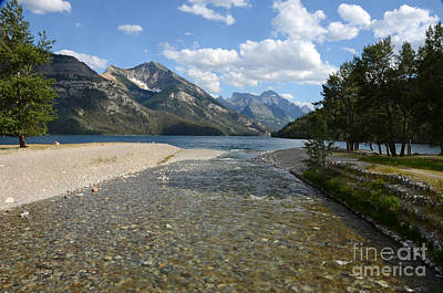 Photograph - Waterton Lake by Cassie Marie Photography