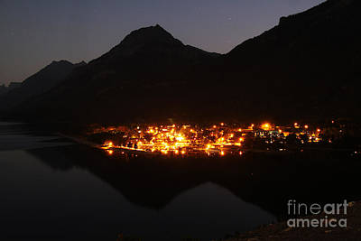 Photograph - Waterton Reflections by Alyce Taylor