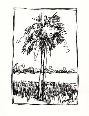 florida palm trees drawing. florida palm trees drawing waterway by michele hollister for nancy asbell s