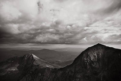 Photograph - Watkin Path Bw by Justin Albrecht