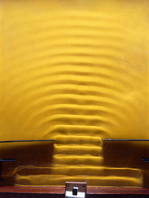 Aperture Photograph - Wave Diffraction Experiment by Andrew Lambert Photography