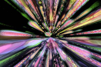 Digital Art - Wave Nova by Eric Weeber
