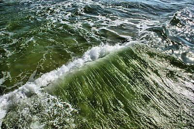 Photograph - Wave Of Greens by Mareko Marciniak
