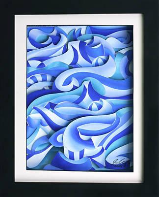 Waves 2 Art Print by Jason Amatangelo