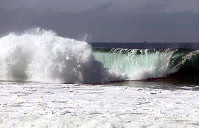 Photograph - Waves At Zuma by John Rizzuto
