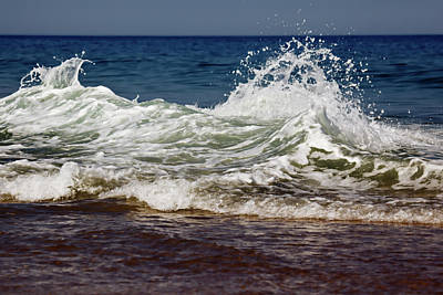 Waves In Motion Art Print by Nick  Shirghio