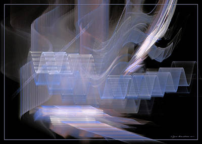 Digital Art - Waves Like Music Vol. 1 by Sipo Liimatainen