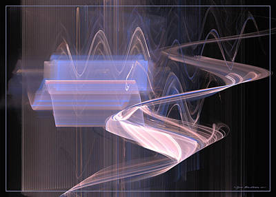 Digital Art - Waves Like Music Vol. 2 by Sipo Liimatainen