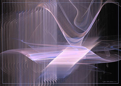 Digital Art - Waves Like Music Vol. 3 by Sipo Liimatainen