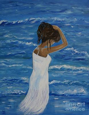 Painting - Waves Of Beauty by Leslie Allen