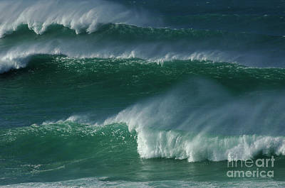 Waves Of Hawaii Art Print