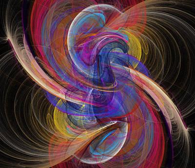 Digital Art - Waves by Ricky Barnard