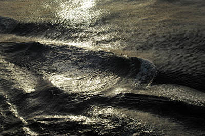 Photograph - Waves. by Terence Davis