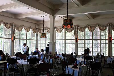 Photograph - Wawona Dining Room by Lorraine Devon Wilke