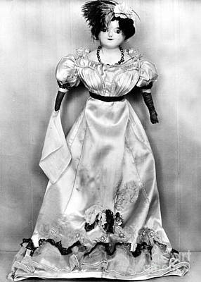 Photograph - Wax Doll, C1820 by Granger