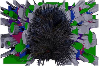 Digital Art - Wax In My Ear by Robert Margetts
