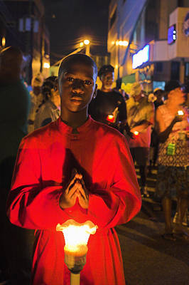 Saint Lucia Photograph - Way Of The Cross- St Lucia by Chester Williams